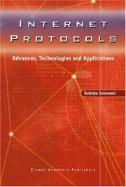 Cover of: Internet protocols