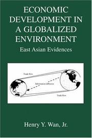 Cover of: Economic Development in a Globalized Environment