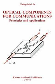 Cover of: Optical Components for Communications: