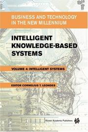 Cover of: Intelligent Knowledge-Based Systems | Cornelius T. Leondes