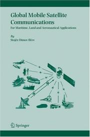 Cover of: Global Mobile Satellite Communications