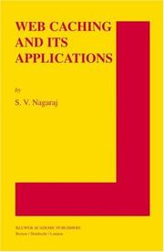 Cover of: Web Caching and Its Applications