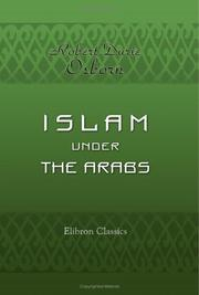 Cover of: Islam under the Arabs