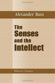 Cover of: The Senses and the Intellect