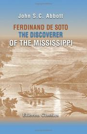 Cover of: Ferdinand de Soto, the Discoverer of the Mississippi