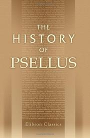 Cover of: The history of Psellus