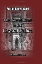 Cover of: The Nineveh Court in the Crystal Palace