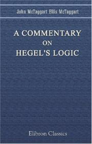 Cover of: A Commentary on Hegel's Logic