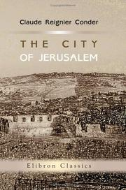 Cover of: The City of Jerusalem