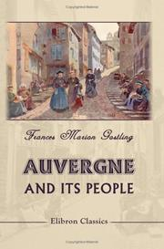 Cover of: Auvergne and Its People