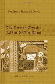 Cover of: The Persian Mystics. Jalálu