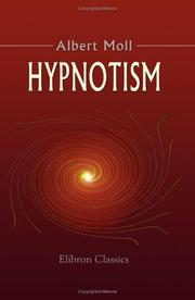 Cover of: Hypnotism | Albert Moll