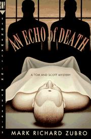 Cover of: An Echo of Death