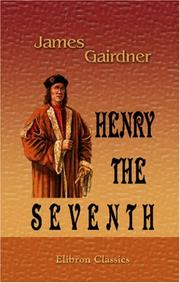 Cover of: Henry the Seventh