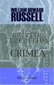 Cover of: The British Expedition To The Crimea