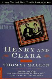 Cover of: Henry and Clara