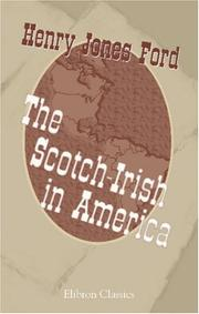 The Scotch-Irish in America by Henry Jones Ford