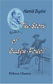 Cover of: The Story of Baden-Powell ('The Wolf That Never Sleeps')