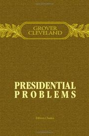 Cover of: Presidential problems