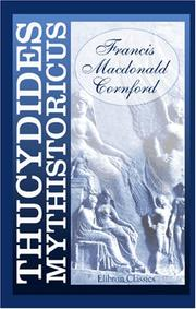 Cover of: Thucydides Mythistoricus
