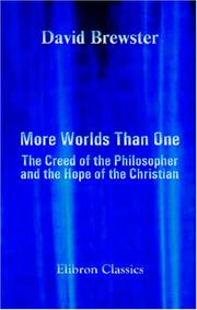 Cover of: More Worlds Than One | David Brewster