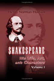 Shakespeare by Henry Norman Hudson