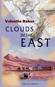 Cover of: Clouds in the East