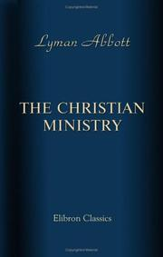 Cover of: The Christian Ministry