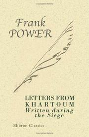 Cover of: Letters from Khartoum