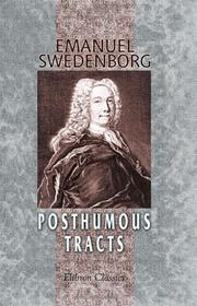 Cover of: Posthumous tracts