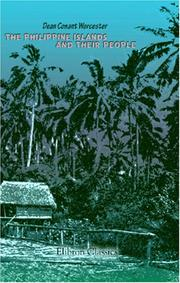 Cover of: The Philippine Islands and Their People