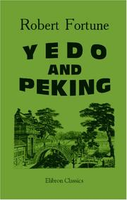 Cover of: Yedo and Peking