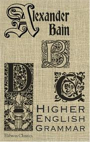 Cover of: Higher English Grammar
