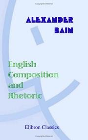 Cover of: English Composition and Rhetoric