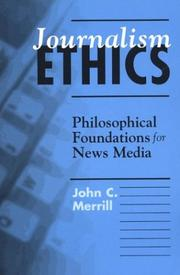 Cover of: Journalism Ethics