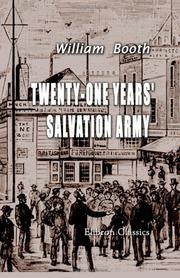 Cover of: Twenty-One Years' Salvation Army