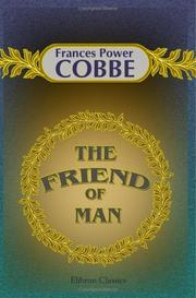 Cover of: The Friend of Man