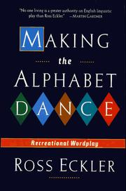 Cover of: Making the Alphabet Dance