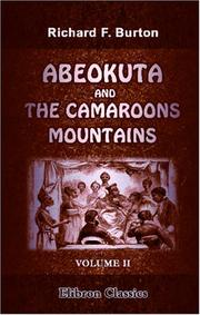 Cover of: Abeokuta and the Camaroons Mountains