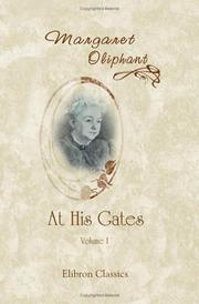 Cover of: At His Gates | Margaret Oliphant