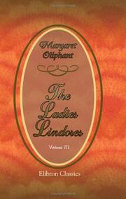 Cover of: The Ladies Lindores