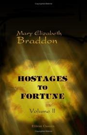 Cover of: Hostages to Fortune | Mary Elizabeth Braddon