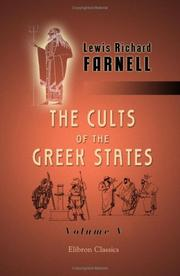 Cover of: The Cults of the Greek States
