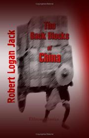 Cover of: The Back Blocks of China | Robert Logan Jack