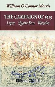 Cover of: The Campaign of 1815 | William O"|180|283|?|a94cb12ef99773a62879f8fa0aadb293|False|UNLIKELY|0.3828340172767639