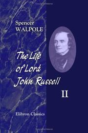 Cover of: The Life of Lord John Russell