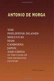 Cover of: Sucesos de las Islas Filipinas
