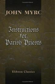 Cover of: Instructions for Parish Priests