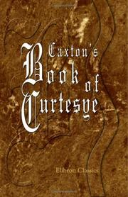 Cover of: Caxton's Book of Curtesye