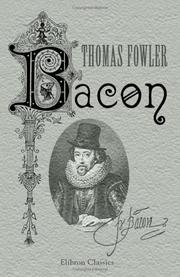 Cover of: Bacon by Thomas Fowler